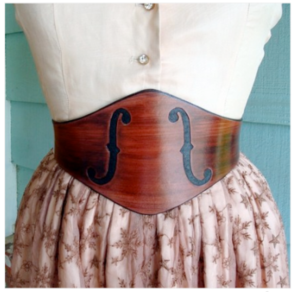 Contrived to Charm Leather Belts & Corsets