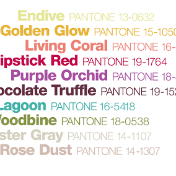 Pantone 2010  Fall Colors