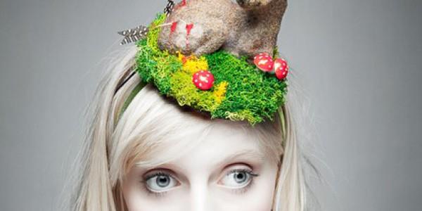 Deer headpiece