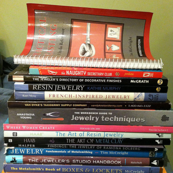 Top 13 Jewelry Making & Design Books from the Library of Alicia Hanson