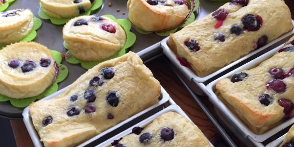 Blueberry German Pancakes