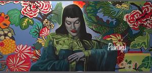 Alicia-Hanson-Acrylic-Painting