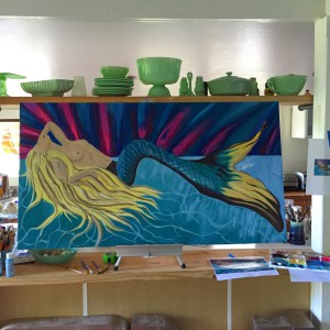 Alicia-Hanson-Mermaid-Painting
