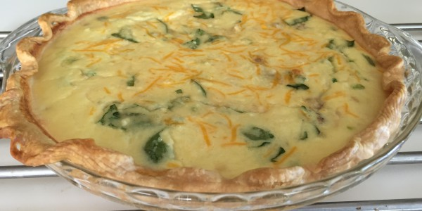 Thanksgiving Leftovers Quiche