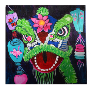 Lion-Dance-Painting-Alicia-Hanson