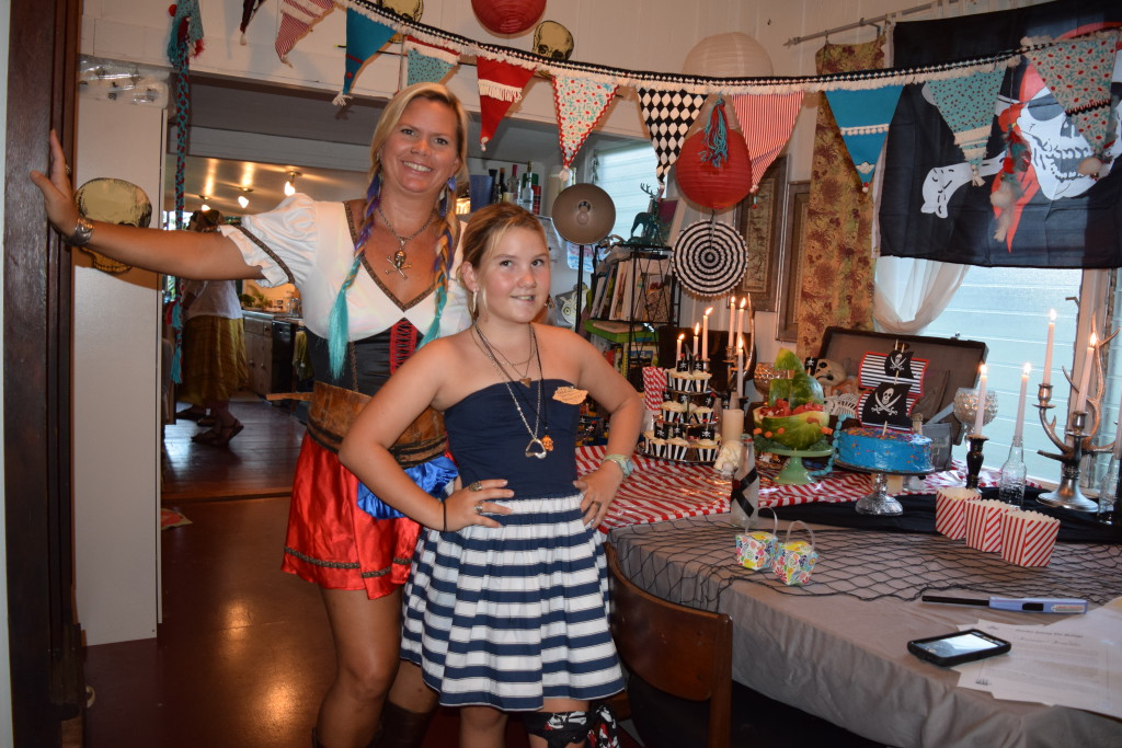 Pirate Themed Tween Party