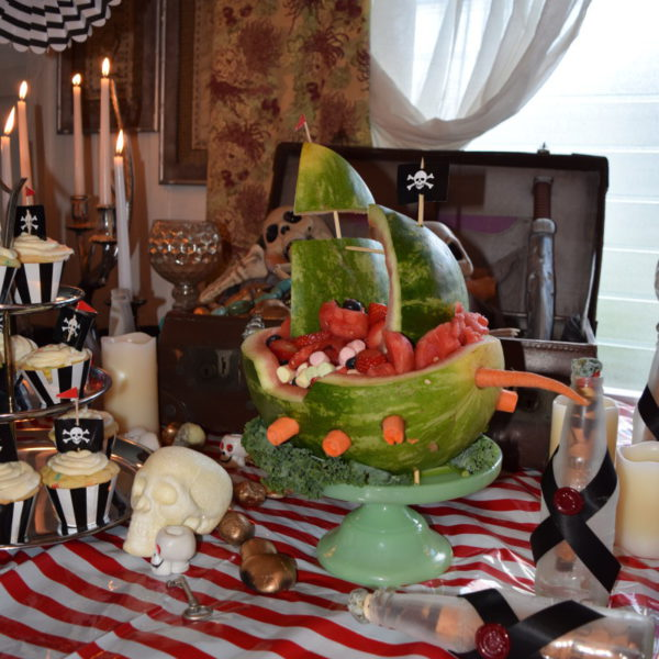 Pirate Themed Murder Mystery Dinner Birthday Party in Hawaii