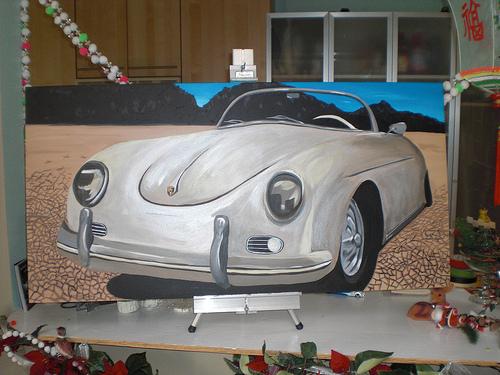 porsche-356-painting