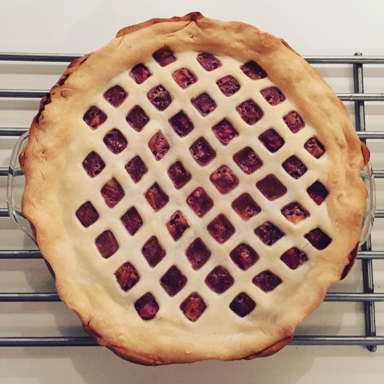 strawberry blackberry pie - HD1024×1024